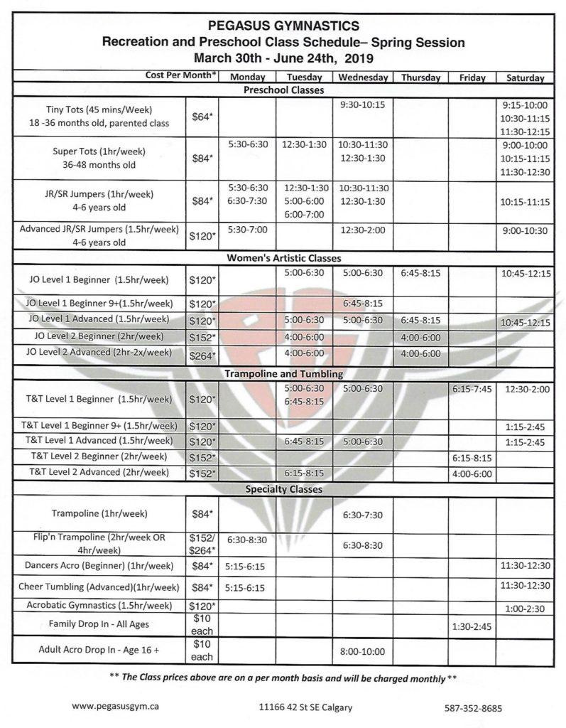 spring-2019-recreation-schedule