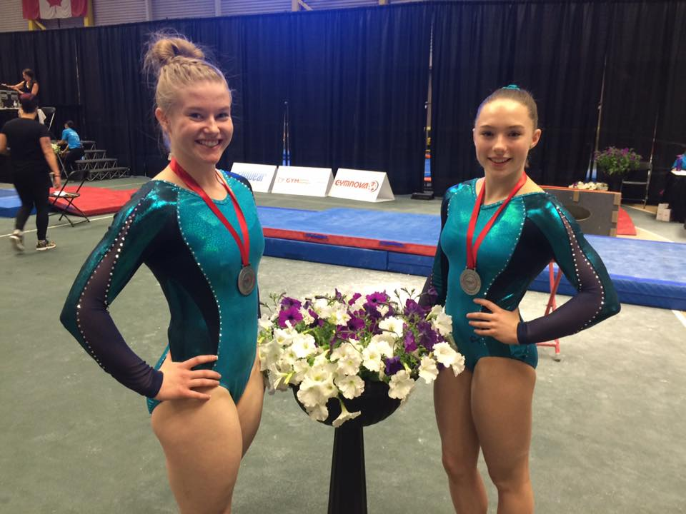 mackenzie and kierstin nationals