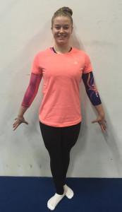 pegasus orange shirt and leggings