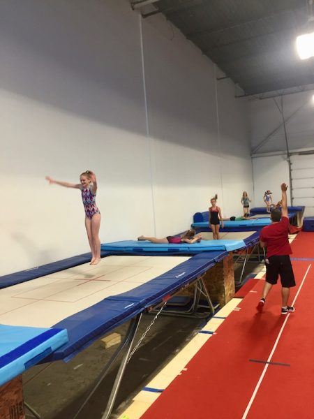 trampoline athletes